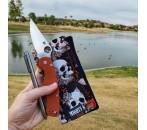 Autumn Skulls Mighty Mini with Microfiber